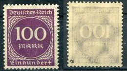 Deutsches Reich Michel-Nr. 268a Postfrisch - Geprüft - Ungebraucht