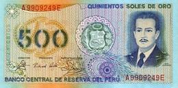 PERU 500 SOLES DE ORO 1982 P-125A UNC  [PE125A] - Pérou