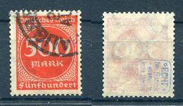 Deutsches Reich Michel-Nr. 272 Gestempelt - Geprüft - Germany