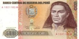 PERU 500 INTIS 1987 P-134b UNC  [PE134b] - Pérou