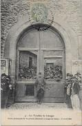 CPA Politique Les Troubles De Limoges Grèves Circulé En 1905 - Evènements