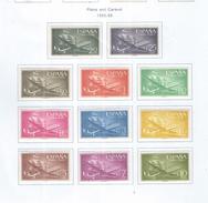 Spagna 1955/56 Caravel Valori N.11 Scott.C147/157+ See Scans - Unused Stamps