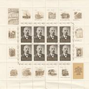 NOYTA CCCP - RUSSIE - FEUILLET COMPLET 8 TIMBRES + VIGNETTES - 100 ANS DE LENINE 1870-1970 /3