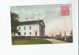 CHURCH PARADE AT GARRISON CHAPEL 896        1909 - Alberta