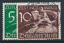 D. Reich Nr. Z 738-739 ~ Michel 14,-- Euro - Gebruikt