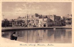 "D5822 ""MALTA - MISIDA WHARF MISIDA"" ANIMATA, CARRO. CART NON SPED - Malta"