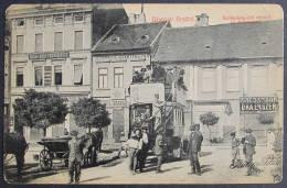 Romania / Hungary - Transylvania: Arad, Freedom Square And Bus / Piata Libertatii Si Autobuz  1909 - Romania