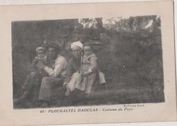 CPA 29 PLOUGASTEL-DAOULAS. Costume Du Pays - Plougastel-Daoulas