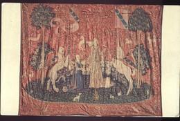 """CAK Tapisserie """"Die Dame Und Das Einhorn"""" Musee De Cluny (1) Ungelaufen K0012 - Museen"""