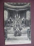 CPA 52 ENFONVELLE Intérieur De L'Eglise Cercueil Et Drapeaux Canton BOURBONNE LES BAINS - Frankreich