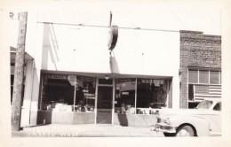 Vashon Washington State, Vashon Pharmacy Drug Store, Autos, C1940s Vintage Real Photo Postcard - United States