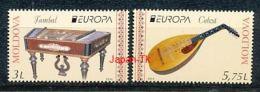 MOLDAWIEN Mi.NR 863-864 Europa - Volksmusikinstrumente -2014- MNH - 2014