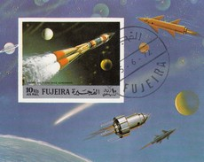 FUJEIRA - BLOC ESPACE -- 15.6.72  / 6584 - Space