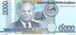 LAOS 2000 KIP 2011 P-41 UNC [ LA517a ] - Laos
