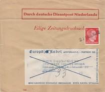 Occupation Allemande Aux Pays Bas Bande De Journal 1942 - Bezetting 1938-45