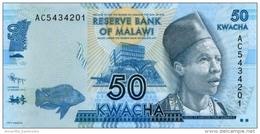 MALAWI 50 KWACHA 1.1.2012 P-58a UNC  [ MW151a ] - Malawi