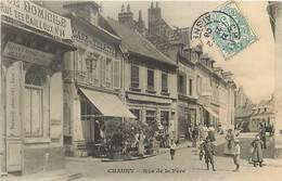 A-17.5235 :  CHAUNY. RUE DE LA FERE. - Chauny