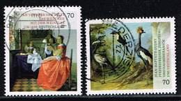 Bund 2017, Michel# 3274 - 3275 O Schätze Aus Dt. Museen : Jean Baptiste Oudry / Van Delft - Gebraucht
