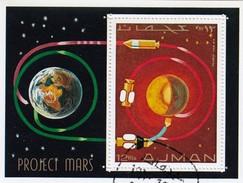 AJMAN  - BLOC PROJECT MARS   / 6243 - Azië