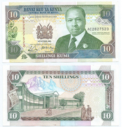 Kenia - Kenya 10 Shillings 1989 Pick 24.a Ref 284 - Kenia