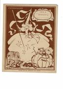 Protège Cahier Chocolat MENIER Cendrillon Fée Souris Rat Citrouille Illustré Jean Adrien Mercier - Protège-cahiers