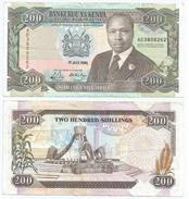 Kenia - Kenya 200 Shillings 1990, Firma 9a Pick 29.b Ref 290 - Kenia