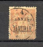 ZANZIBAR   N° 26  OBLITERE   COTE  12.00€   TYPE SAGE  VOIR DESCRIPTION - Sansibar (1894-1904)