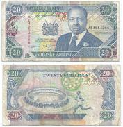 Kenia - Kenya 20 Shilings 1993, Firma 11 Pick 31.a Ref 292 - Kenia
