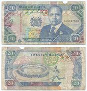 Kenia - Kenya 20 Shilings 1993, Firma 11 Pick 31.a Ref 293 - Kenia