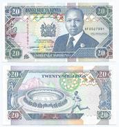 Kenia - Kenya 20 Shilings 1993, Firma 11 Pick 31.a Ref 294 - Kenia