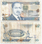 Kenia - Kenya 20 Shilings 1995 Pick 32 Ref 295 - Kenia