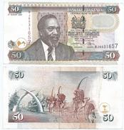 Kenia - Kenya 50 Shillings 02-08-2004 Pick 41.c Ref 298 - Kenia