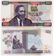 Kenia - Kenya 100 Shillings 2010 Pick 48.e UNC - Kenia