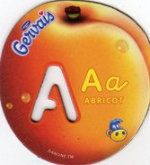 Magnets Magnet Alphabet Gervais Abricot A - Letters & Digits