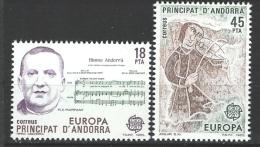 "Andorre Esp. YT 172 Et 173 "" Europa "" 1985 Neuf** - Neufs"