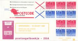 Nederland - W-enveloppe/Philato - 17-6-1986 - Postzegelboekje 33 Met Tekst - ROM NVPH PB 33 - FDC