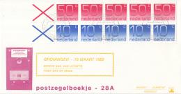 Nederland - W-enveloppe/Philato - 17-6-1986 - Postzegelboekje 33 Zonder Tekst - ROM NVPH PB 33 - FDC