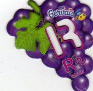 Magnets Magnet Alphabet Gervais Raisin R - Lettres & Chiffres