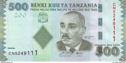 TANZANIA 500 SHILLINGS ND (2011) P-40a UNC [TZ139a] - Tanzania