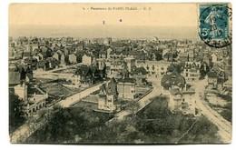 CP21 LE TOUQUET PANORAMA PARIS PLAGE 1912 - Le Touquet