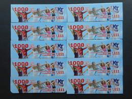 Armenia. Internet Card Karabakh Telecom 1000 Units (Lot Of 10 Cards)