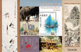 Macao - 2016 - Paintings Of Macao Famous Artists - Mint Souvenir Sheet