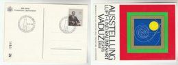 1969 Vaduz LIECHTENSTEIN SPACE AERONAUTICS EVENT COVER (card) Stamps - Europe