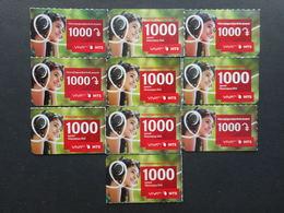 Armenia. Internet Card VivaCell 1000 Dram (Lot Of 10 Cards) - Armenia
