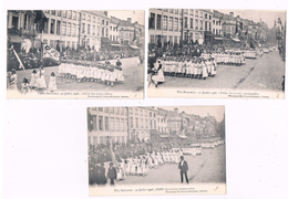 B-6336     ANTWERPEN : Fete Nationale 1906 ( 7 Cartes !! ) - Arendonk