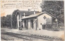 51. CONNANTRE. La Gare - France