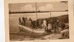 NIGER EMBARCADERE DU POSTE DE GAYA - Niger