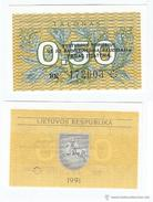 Lituania - Lithuania 0,50 Talonas 1991 Pick 31.b UNC - Lituania