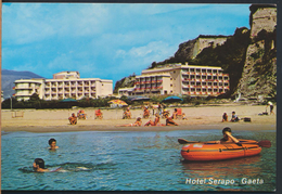 °°° 4902 - GAETA - HOTEL SPIAGGIA SERAPO (LT) °°° - Altre Città