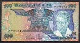 534-Tanzanie Billet De 100 Shillings 1986 JS072 Sig.3 Neuf - Tanzanie